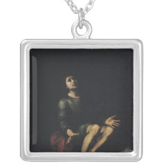 Daniel in the Lions' Den 2 Silver Plated Necklace