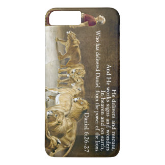 Daniel in the Lion's Den Bible Scripture Christian iPhone 7 Plus Case