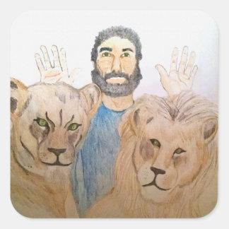Daniel in the Lions' Den II Stickers