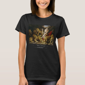 Daniel in the Lion's Den Peter Paul Rubens paint T-Shirt