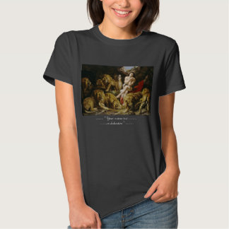 Daniel in the Lion's Den Peter Paul Rubens paint T-shirts