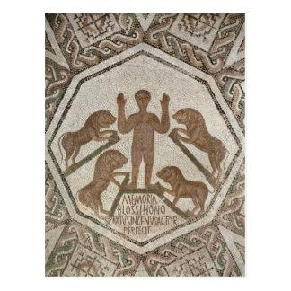 Daniel in the Lions' Den Postcard