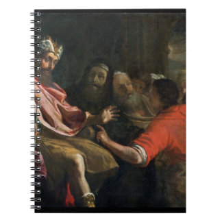 Daniel Interpreting Nebuchadnezzar's First Dream ( Spiral Note Books