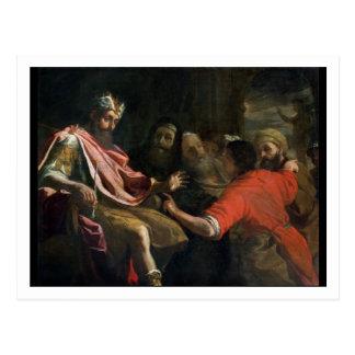 Daniel Interpreting Nebuchadnezzar's First Dream ( Postcard