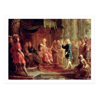 Daniel Interprets Nebuchadnezzar's First Dream (oi Postcard