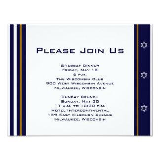 "Daniel Jake Custom Event Card 4.25"" X 5.5"" Invitation Card"