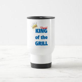 Daniel king of the grill travel mug