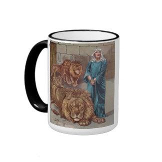 Daniel Lions Den Ringer Coffee Mug