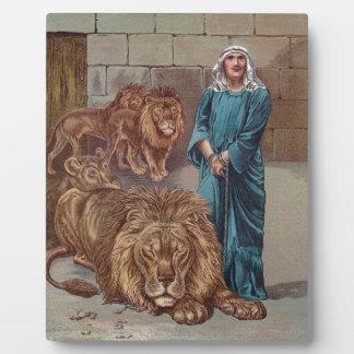 Daniel Lions Den Photo Plaque