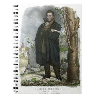 Daniel O'Connell el campeón de la libertad por Hof Cuaderno