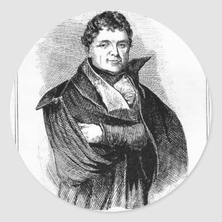 Daniel OConnell Pegatina Redonda