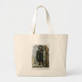 Daniel O'Connell Portrait by Hoffy Large Tote Bag