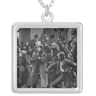 Daniel O'Connell  returning home from prison Silver Plated Necklace