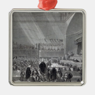 Daniel O'Connell standing trial in 1844 Metal Ornament