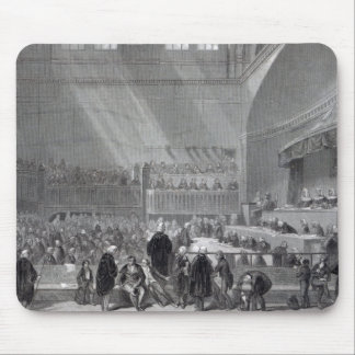 Daniel O'Connell standing trial in 1844 Mouse Pad