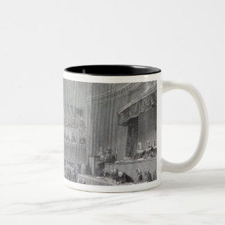 Daniel O'Connell standing trial in 1844 Two-Tone Coffee Mug