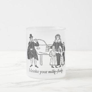 Daniel (Olden) Day Lewis (mug) Frosted Glass Coffee Mug
