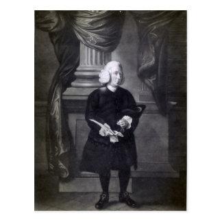 Daniel Race, engraved by James Watson, 1773 Postcard