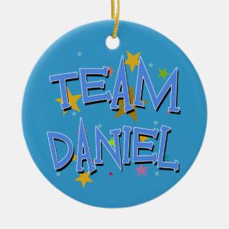 DANIEL Team Daniel Ceramic Ornament