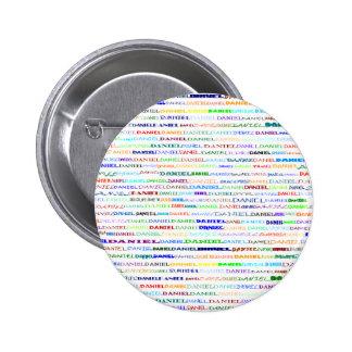 Daniel Text Design II Round Button