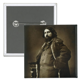 Daniel Vierge (1851-1904), from 'Galerie Contempor Pinback Button
