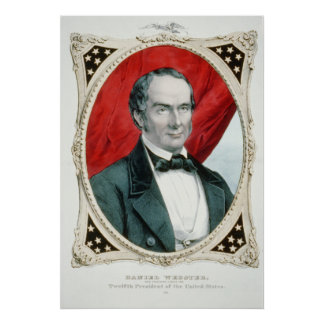 Daniel Webster 12th Presidential Campaign Litho Poster