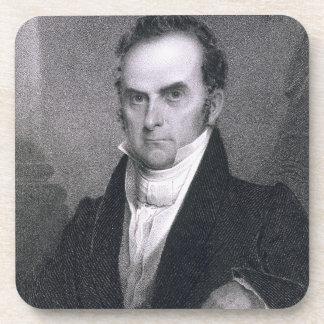 Daniel Webster (1782-1852) (grabado) Posavasos De Bebidas