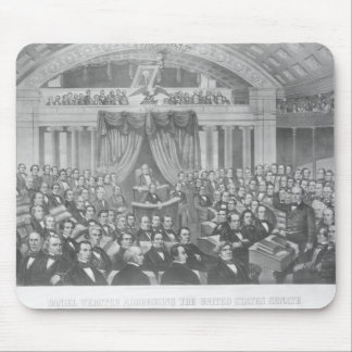 Daniel Webster addressing the United States Mouse Pad