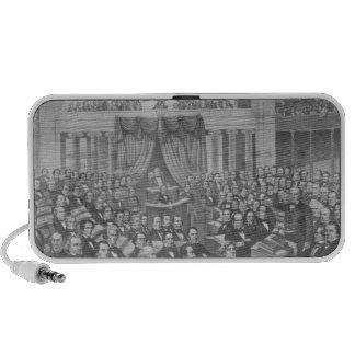 Daniel Webster addressing the United States Speaker