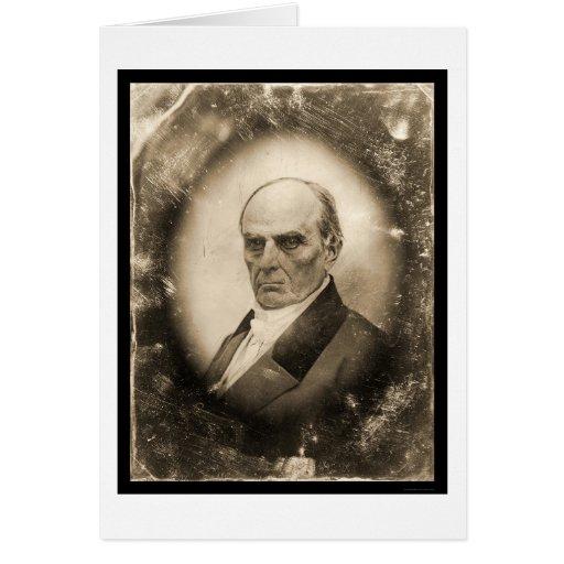 Daniel Webster Daguerreotype 1845 Card