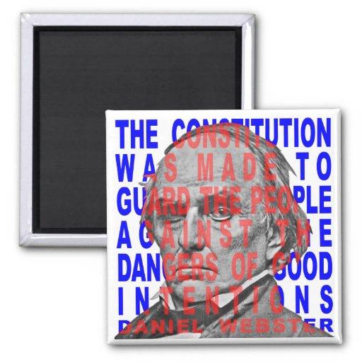 Daniel Webster Quotes Magnet