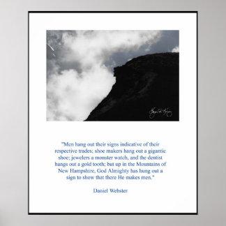 Daniel Webster's Old Man Poster