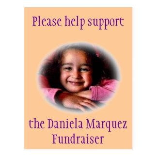 Daniela Fundraiser Postcard