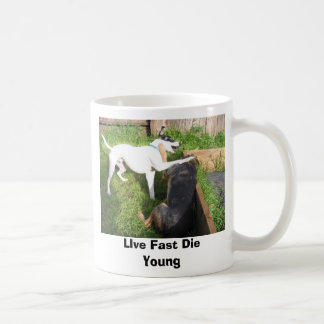 Daniele's visit 039, LIve Fast Die Young Classic White Coffee Mug