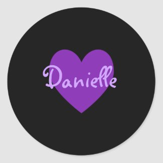 Danielle in Purple sticker