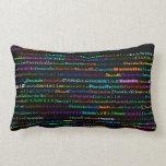 Danielle Text Design I Lumbar Pillow Pillows