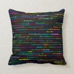 Danielle Text Design I Throw Pillow Throw Pillow