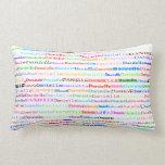Danielle Text Design II Lumbar Pillow Throw Pillows