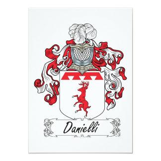 Danielli Family Crest Card