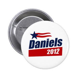 DANIELS 2012 BANNER PINBACK BUTTON
