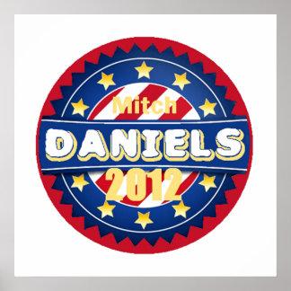 Daniels 2012 POSTER Print