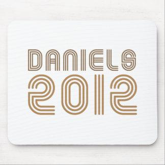 DANIELS 2012 (Vintage) Mouse Pad