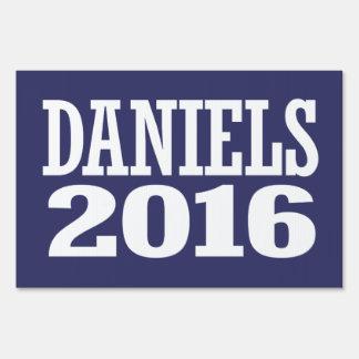 DANIELS 2016 LAWN SIGN