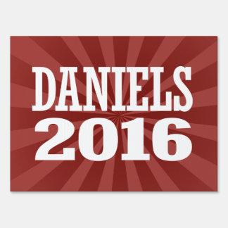 DANIELS 2016 LAWN SIGNS