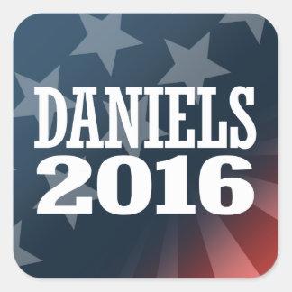 DANIELS 2016 SQUARE STICKER