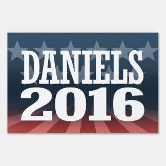 DANIELS 2016 YARD SIGN