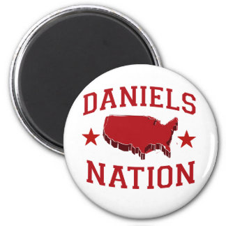 DANIELS NATION 2 INCH ROUND MAGNET