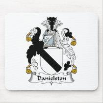 Danielston Family Crest Mousepad