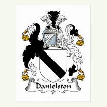 Danielston Family Crest Postcard
