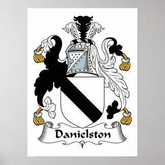 Danielston Family Crest Print